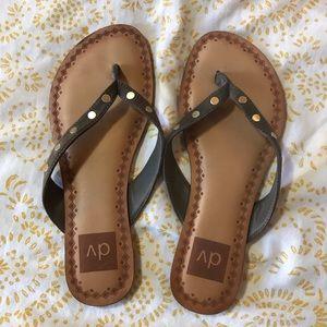 Shoes - Olive green strap sandals!